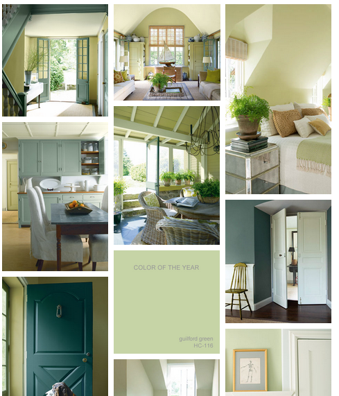 Guilford Green Kitchen Cabinets: Benjamin Moore Color Of The Year For 2015