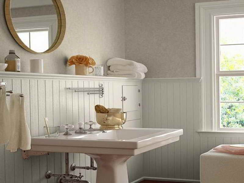 Best Wall Color For Bathroom bathroom painting — color theory, llc : bloomington painters