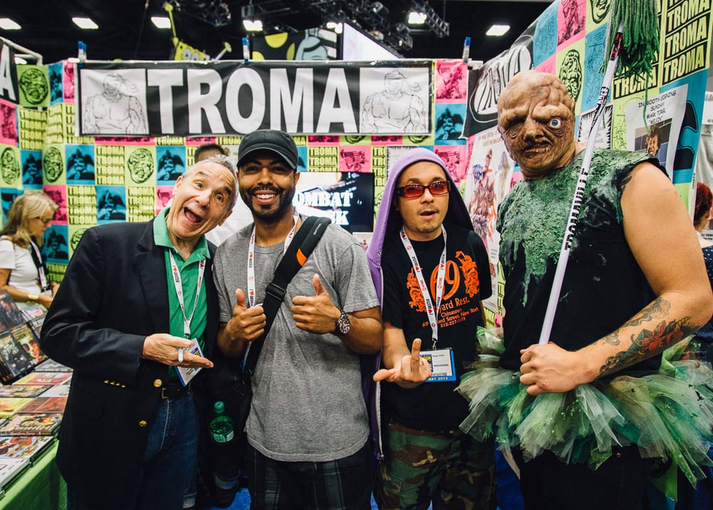 Lloyd Kaufman, creator of TROMA.
