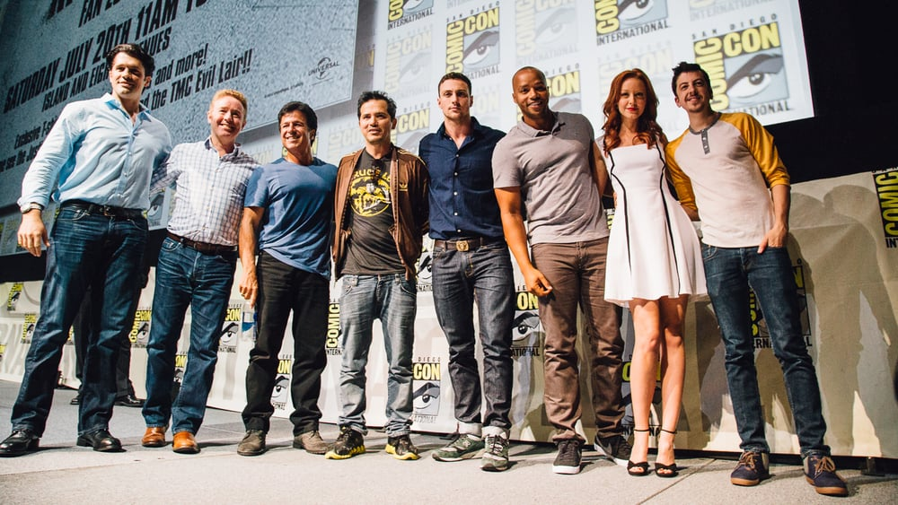 The cast of Kick-Ass 2.
