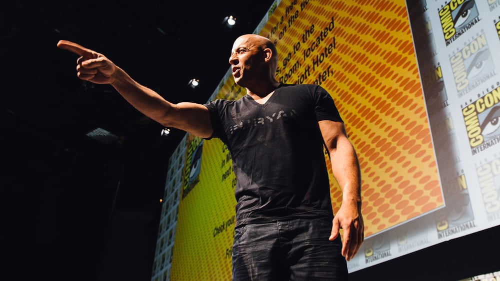 Vin Diesel.