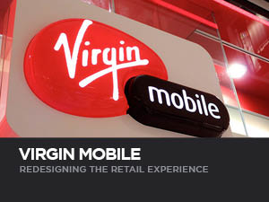A thorough examination of customer needs and desires, followed by the creation and implementation of new ideas designed to enhance the brand experience across Virgin retail stores.