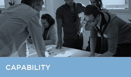 Beyond developing the solution, we share our skills and capability with you and your people, to embed the initiatives we develop. This allows real, sustainable change for your organisation, proven via positive results you'll measure with immense satisfaction.
