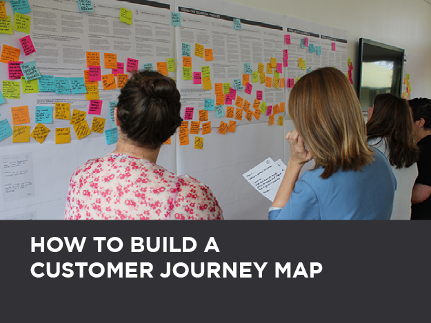Learn to transform your customer research and existing data into a chronological map that reveals customer pain points, their emotional journey and opportunity areas for your organisation.