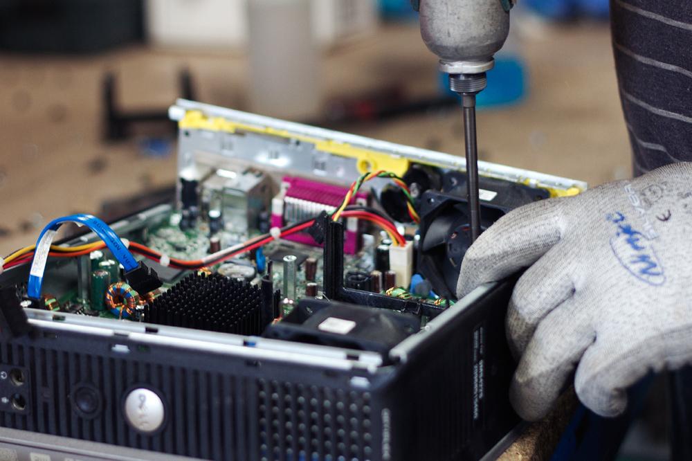Refurbishing computer