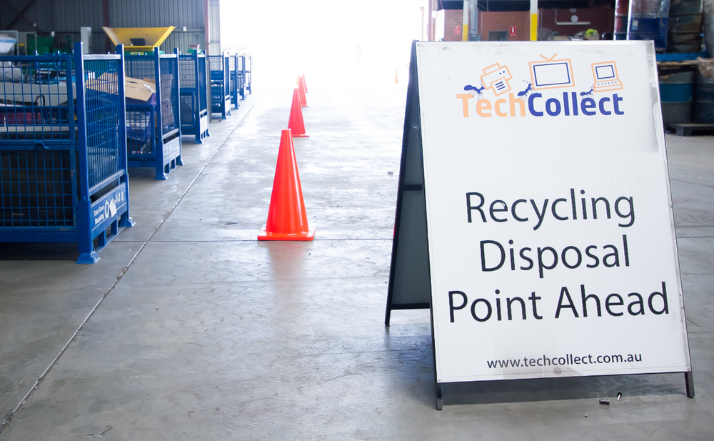 Electronic Junk Recycling Collection