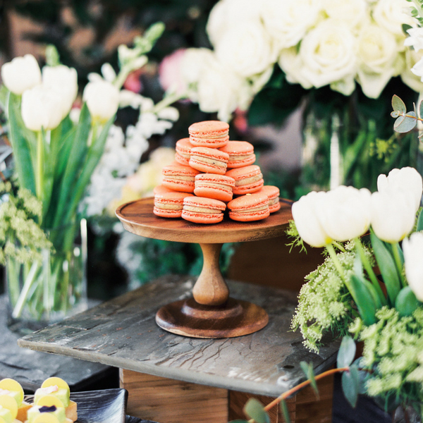 Macaroon Dessert Display