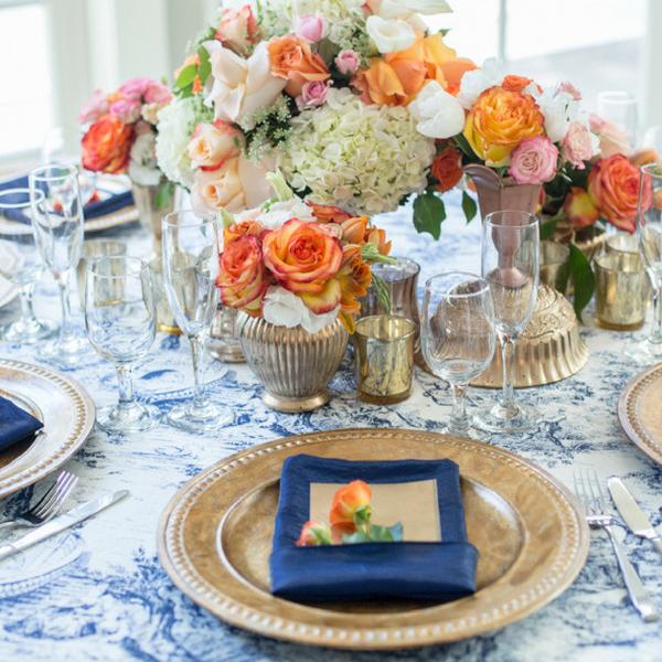Wedding Tablescape Centerpiece