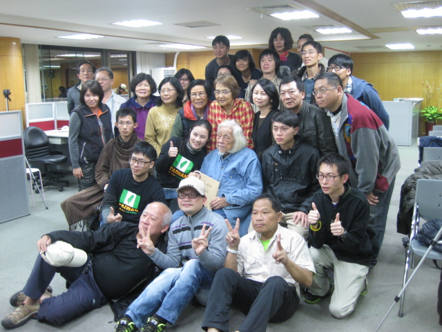 A photo taken of everyone on the last day (February 23) of Su Beng's 3 day class.