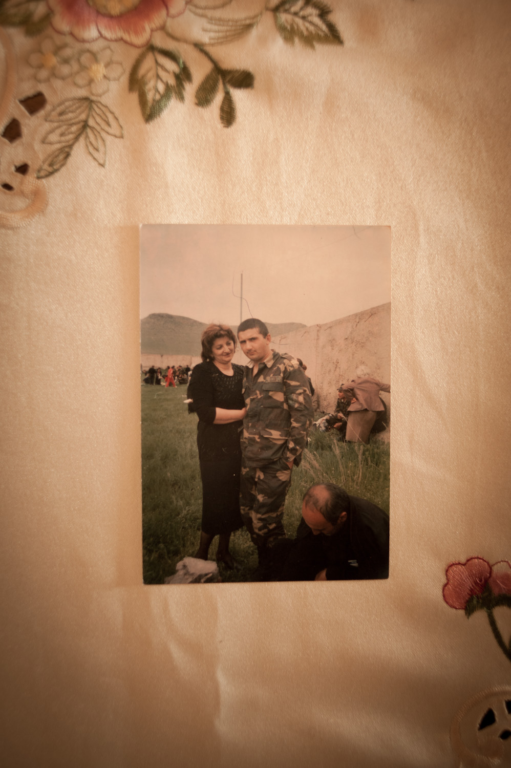 While serving, Tigran recounted that a younger, weaker soldier was being  hazed by the officers and was hit. Tigran had stepped in and criticized  the officers. The Ohanjanyans believe their son's death was related to  this incident.