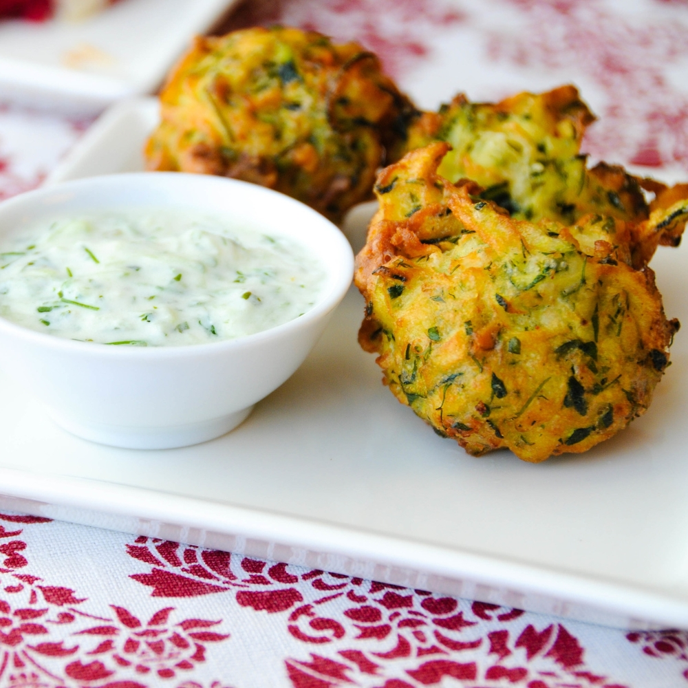 Mucver, or Courgette Fritters