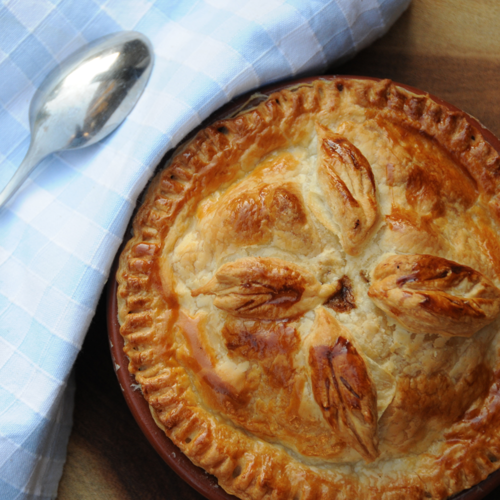 Wintery Steak Pie