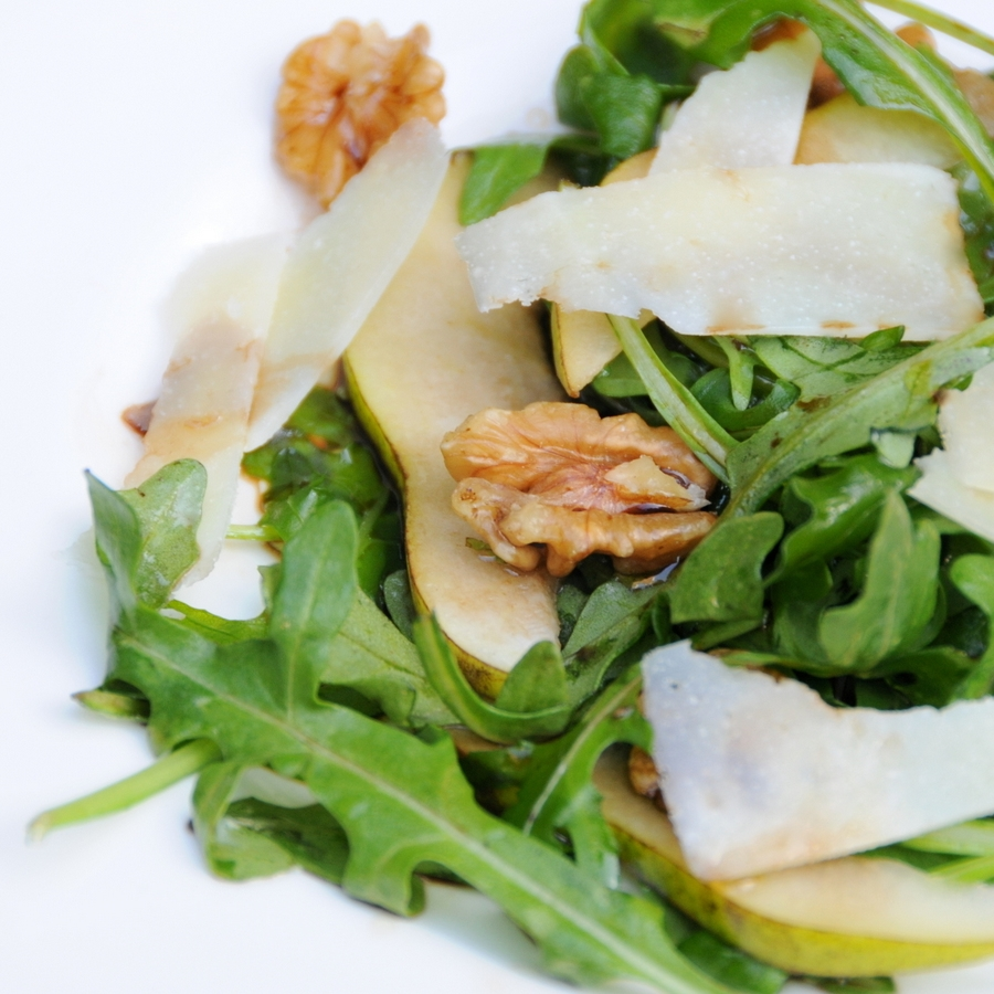 Pear, Walnut, Rocket, Pecorino