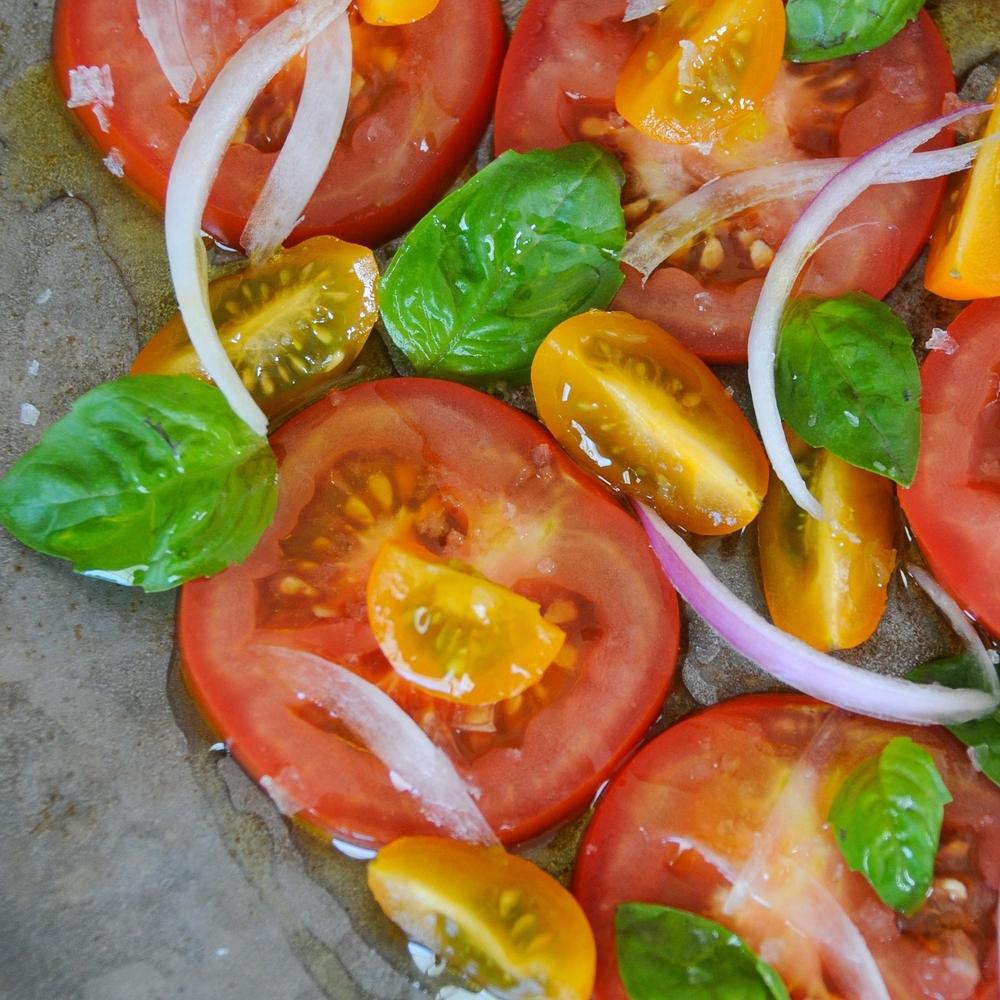 Mum's Tomato Salad