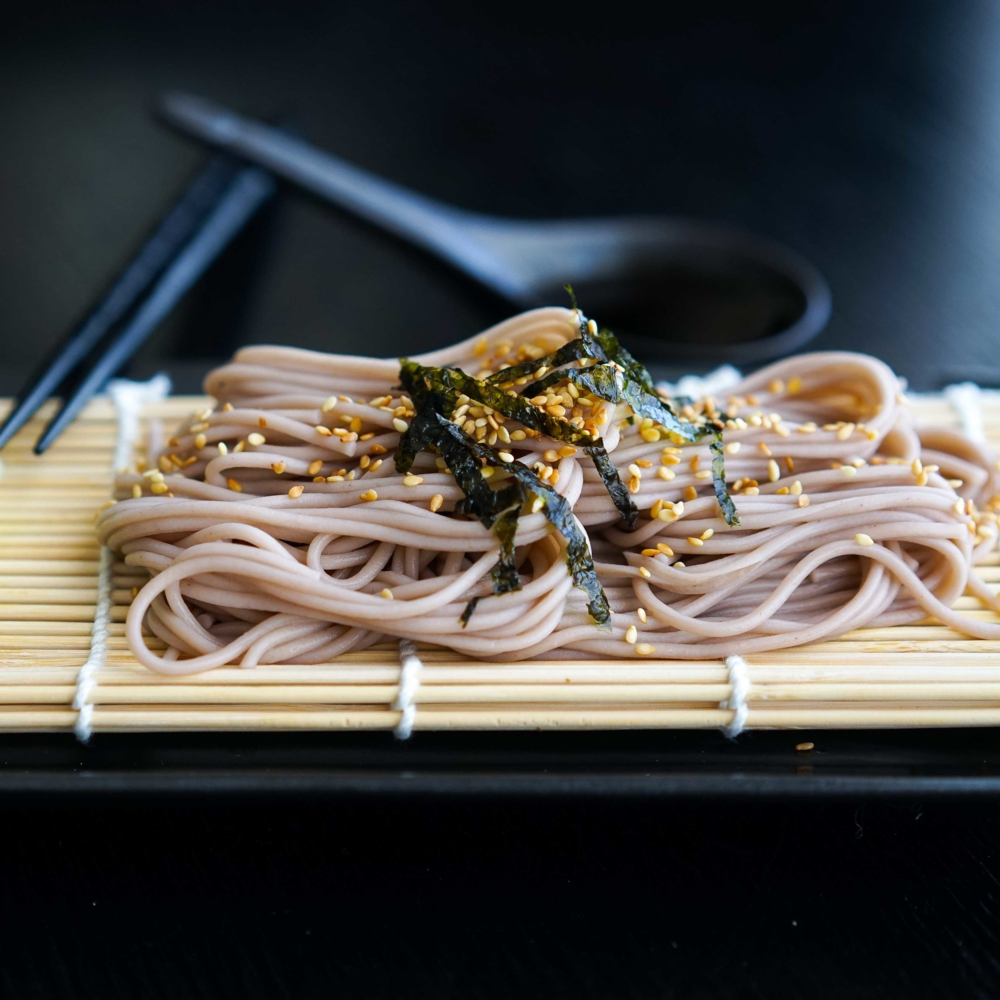 Cold Soba with Mentsuyu