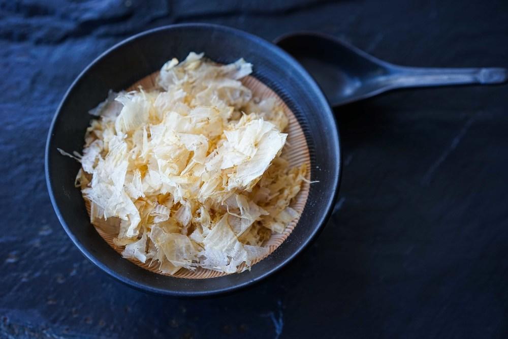 Katsuobushi - dried bonito flakes
