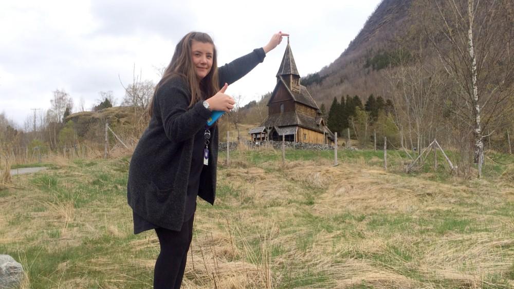 NRK Sogn og Fjordane besøkte Ornes 17-mai i 2017