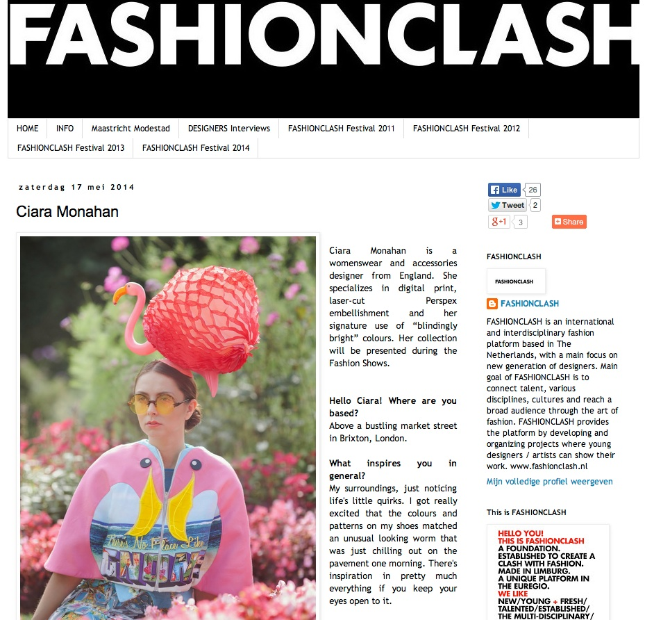 Interview with FASHIONCLASH