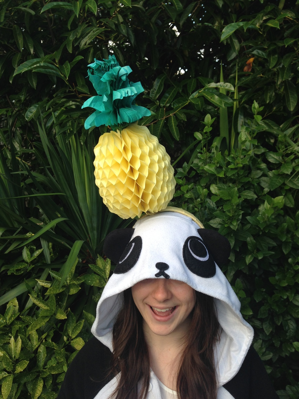 Ciara Monahan PIneapple Headpiece for Kigu