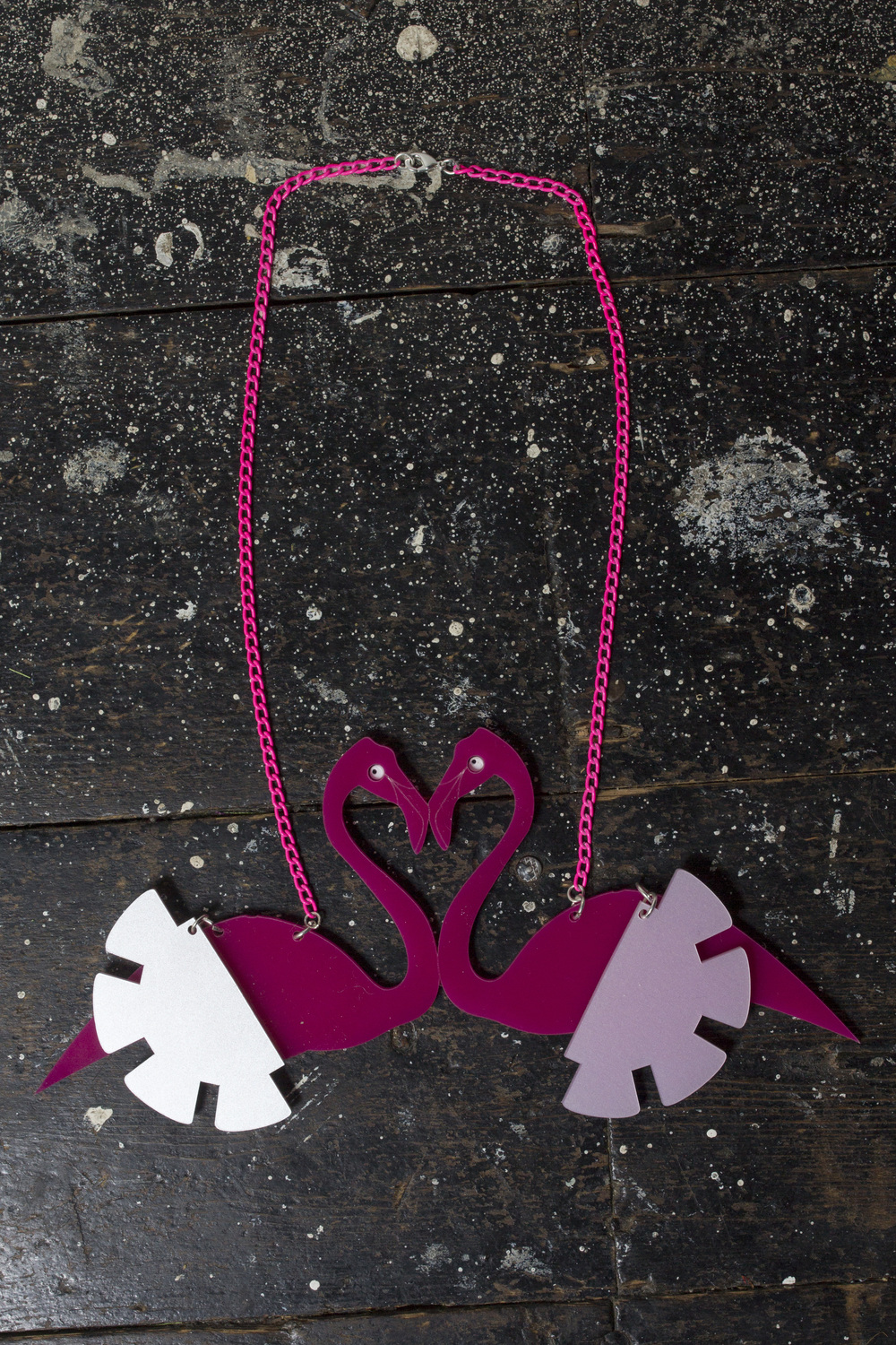 Ciara Monahan Flamingo Love Necklace