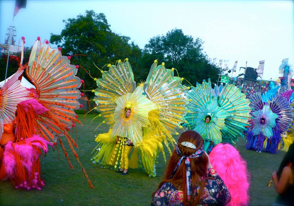Bestival parade 2014