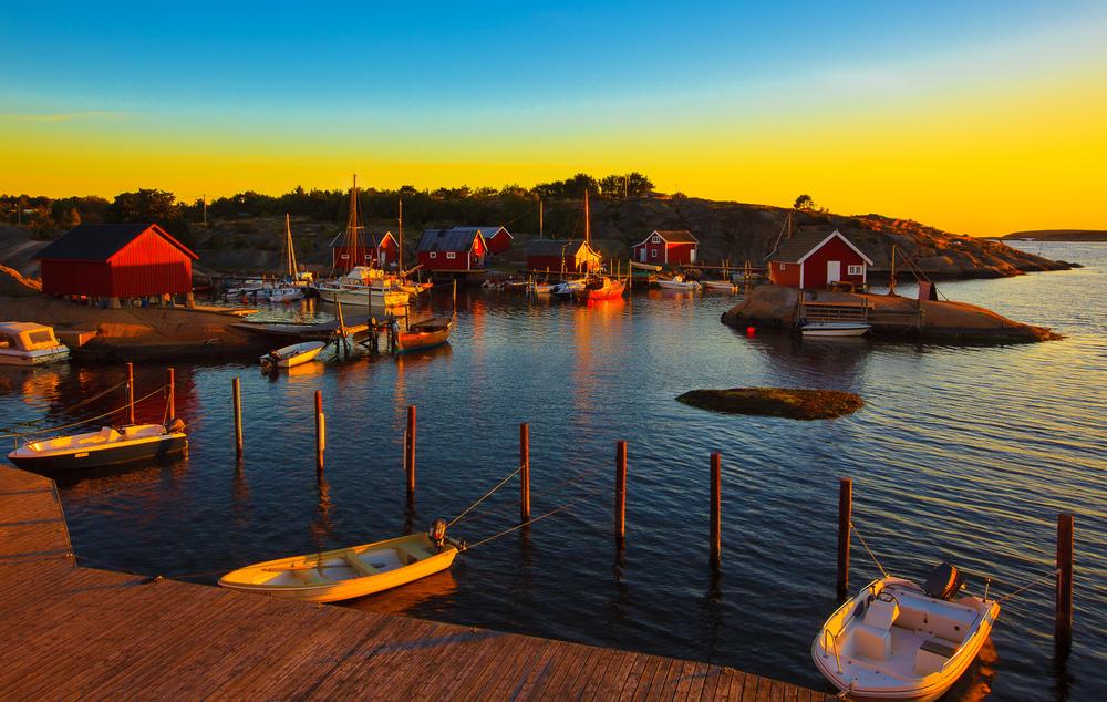 Røm fra kjas og mas - på Hvaler går det    SAKTE    BALSAM FOR SJELEN