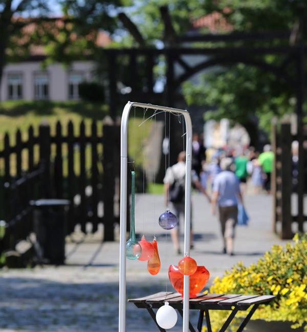 """Glasshytta er lokalisert rett ved """"hovedinngangsportalen"""" til Gamlebyen - Vindebroen. Foto: E. Dahl/Visit Hvaler"""