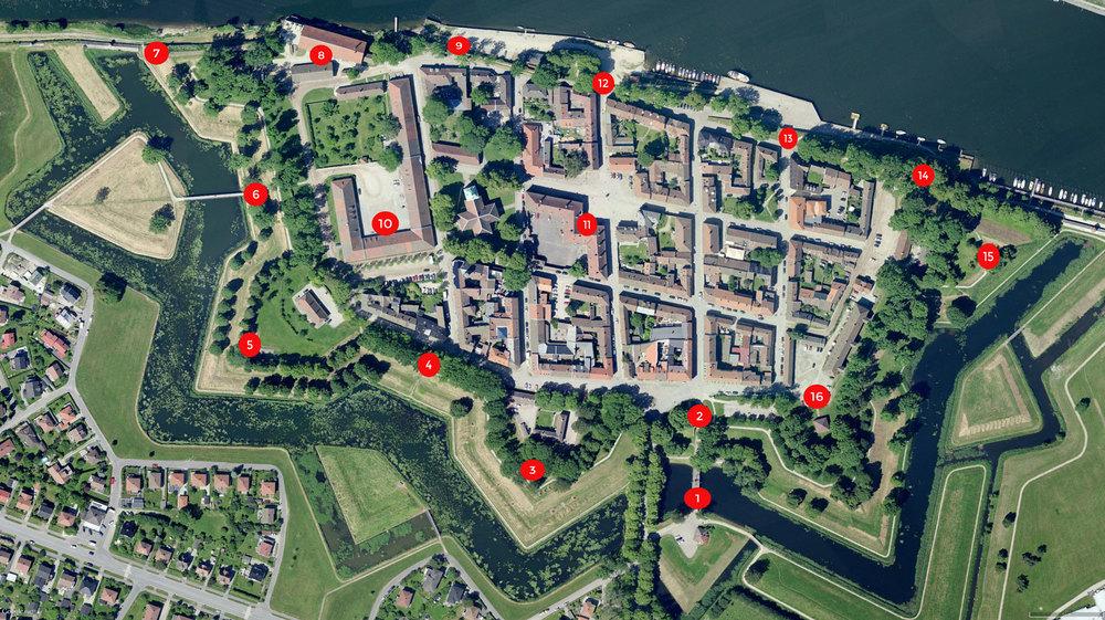 Kart Gamlebyen