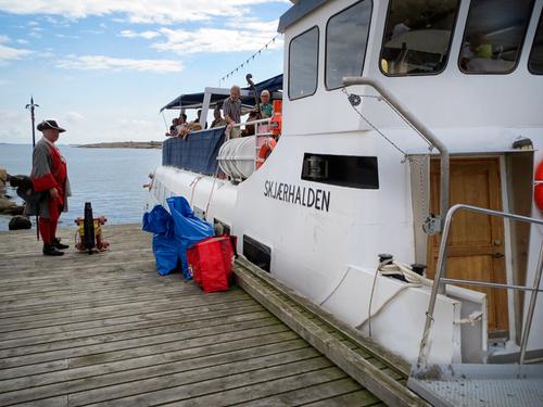 MS Skjærhalden. Foto: Akerøy Forts Venner