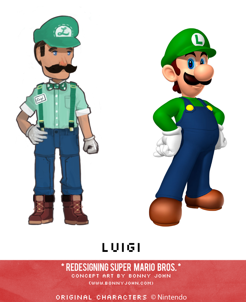 Luigi Redesign Comparison by Bonny John.png