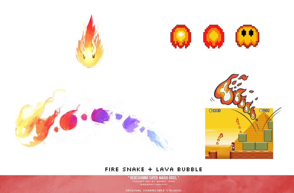 Fire Snake and Lava Bubble Redesign Compariso.png