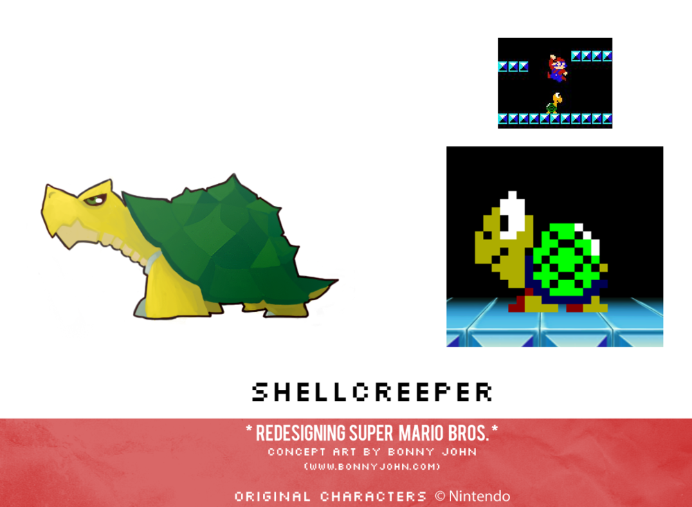 Shellcreeper Redesign Comparison.png