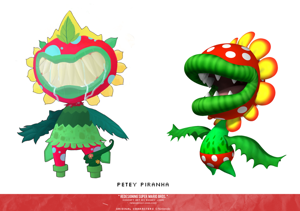 Petey Piranha Redesign Comparison.png