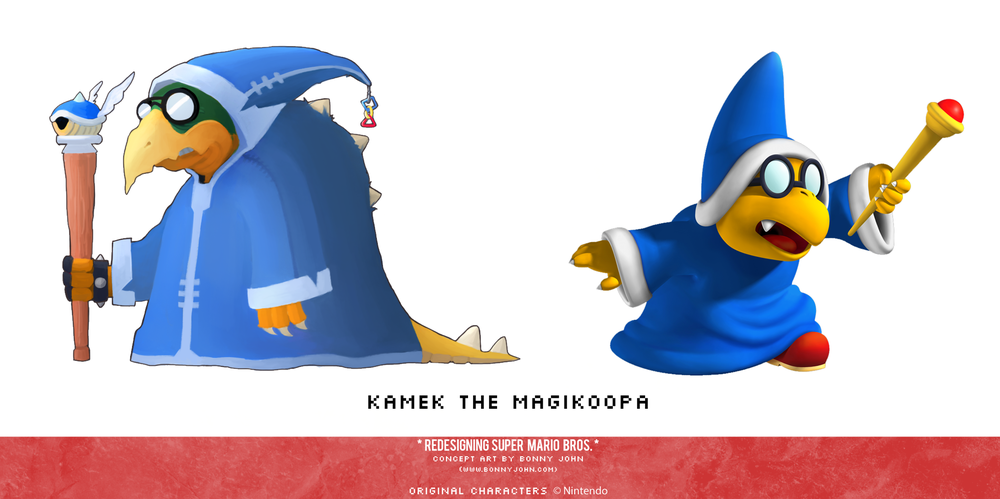 Kamek Redesign Comparison.png