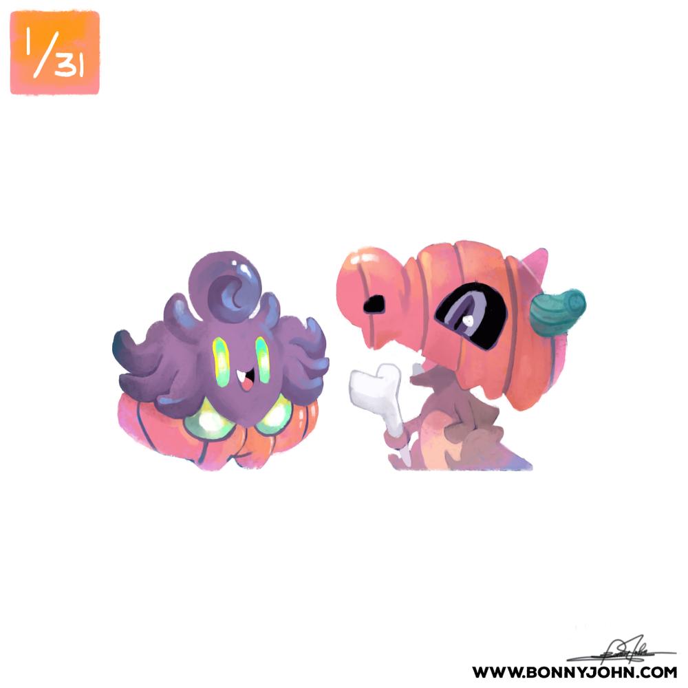 pokemon x halloween 2016 bonny john
