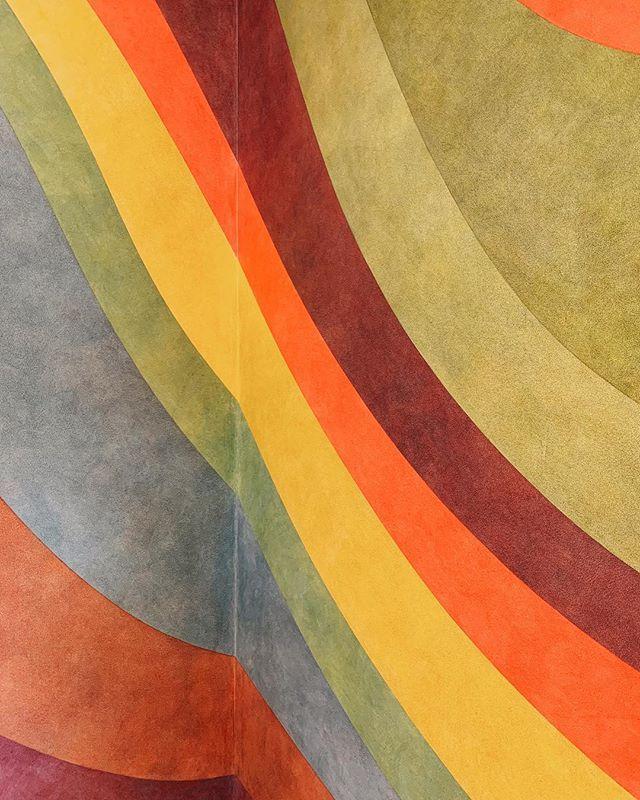 More Sol LeWitt @massmoca - the mid career colors 😍