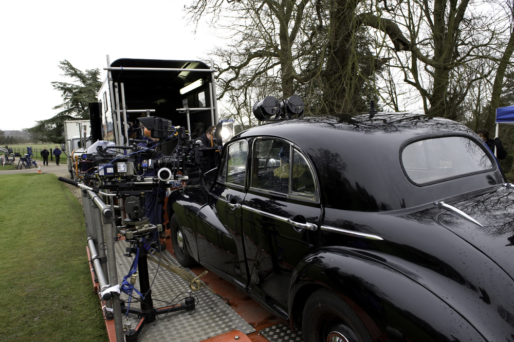"Behind the scenes ""Miss Marple"""