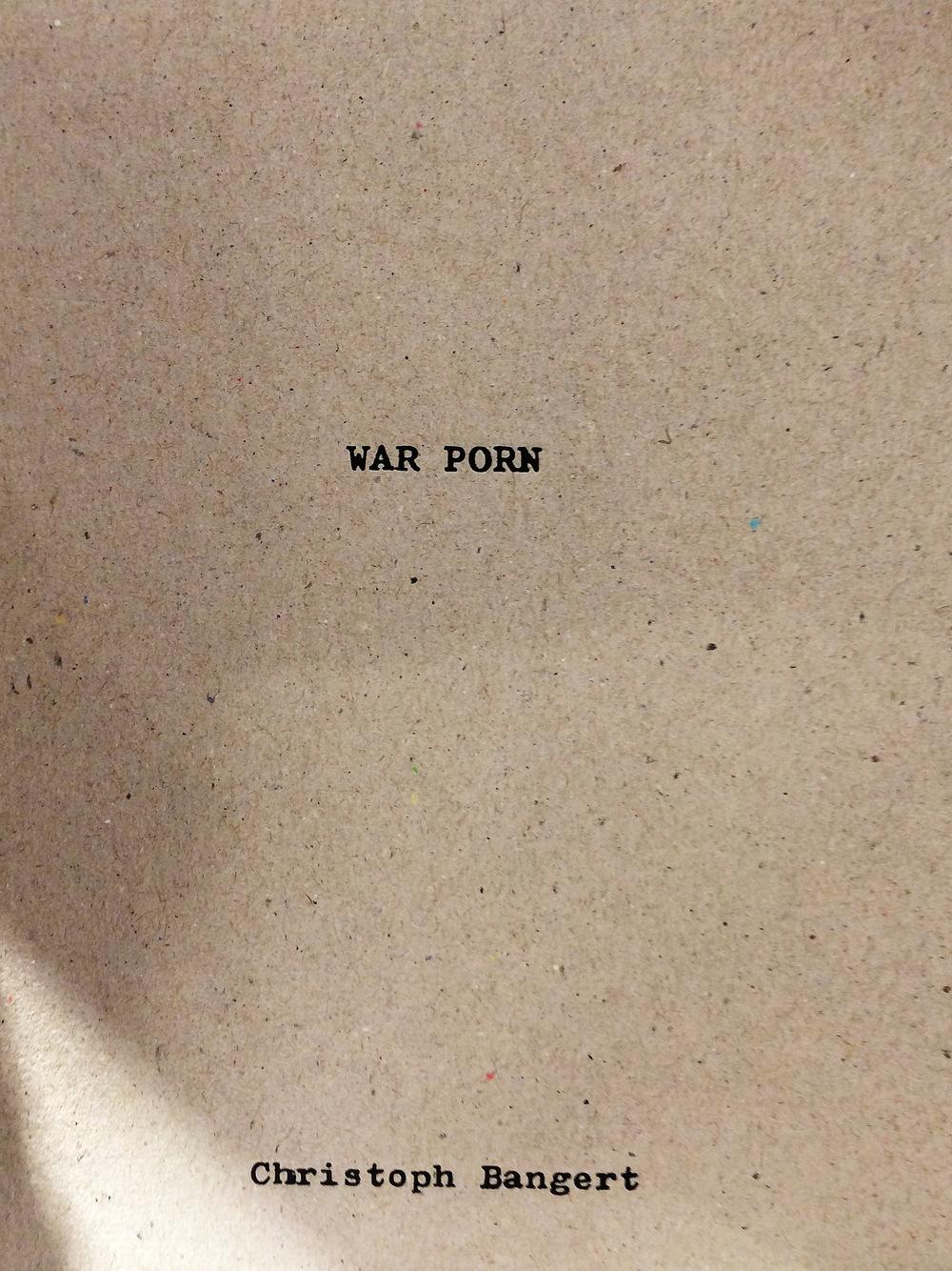 War Porn....  Christoph Bangert