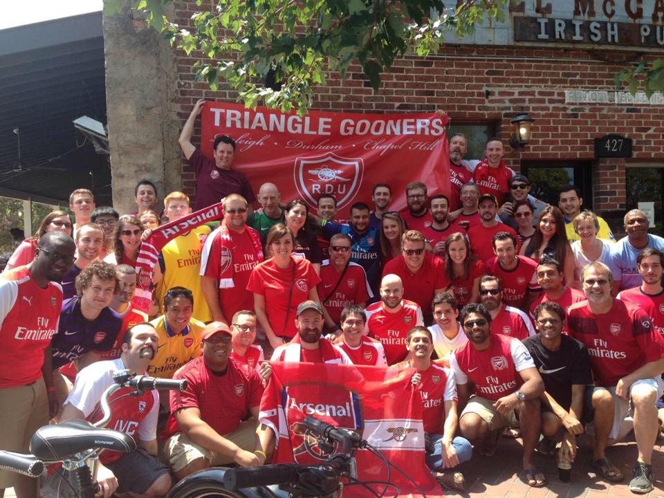 The Triangle Gooners - Season Kickoff 2014