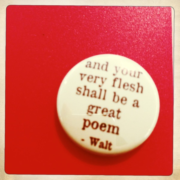 Sweet little pin = some inspiration for the first read.