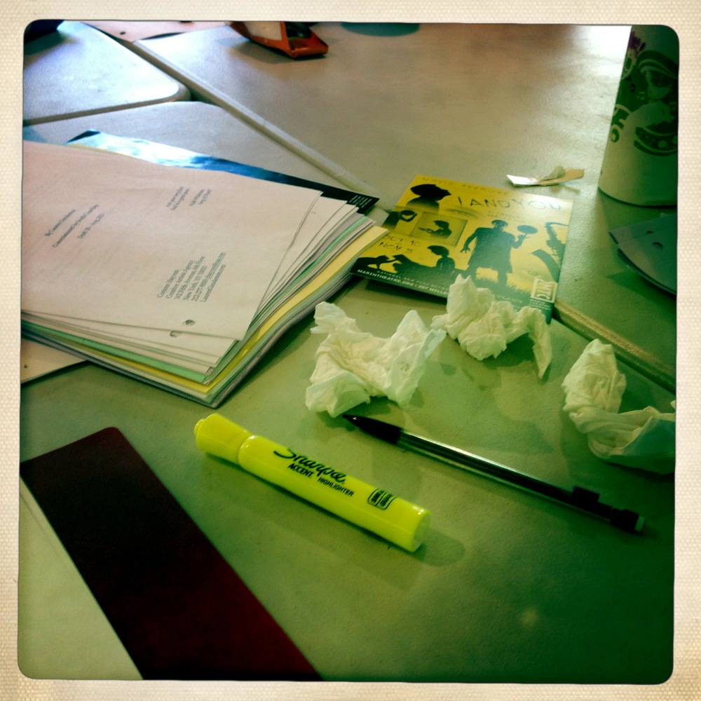 Three Kleenex rewrite.  See you later, old script!