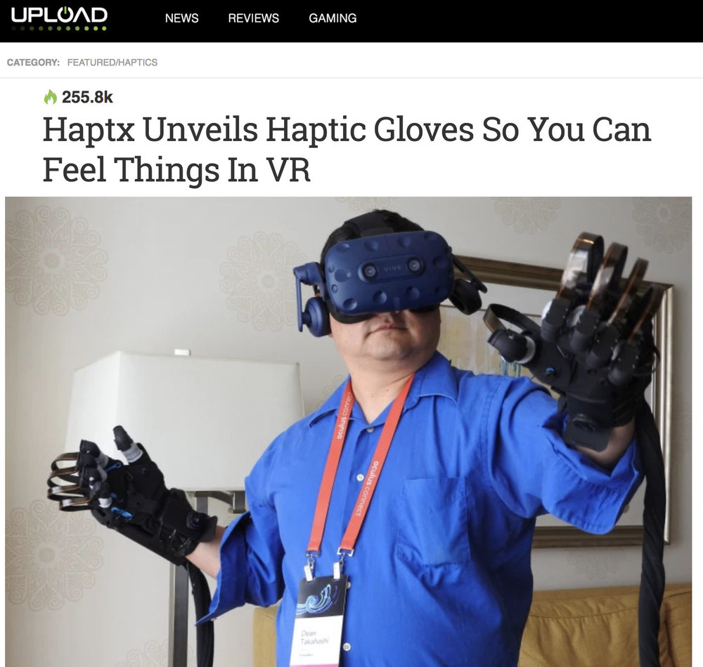 Upload - HaptX Gloves
