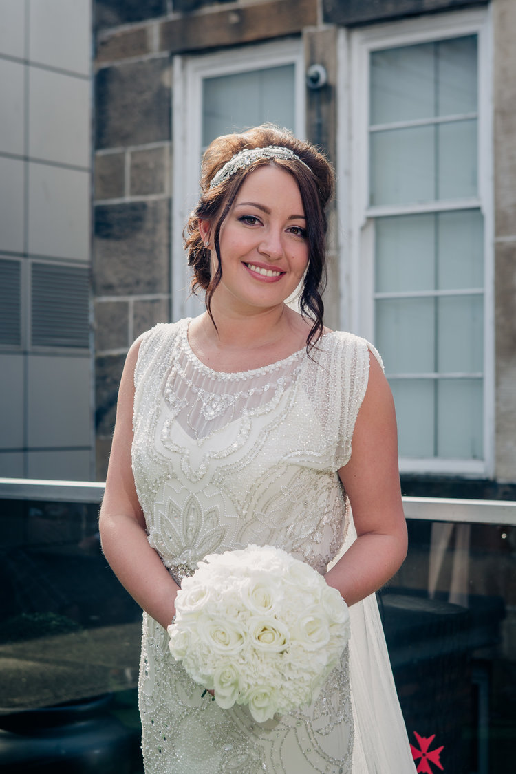 wedding makeup artist glasgow - louise hamill