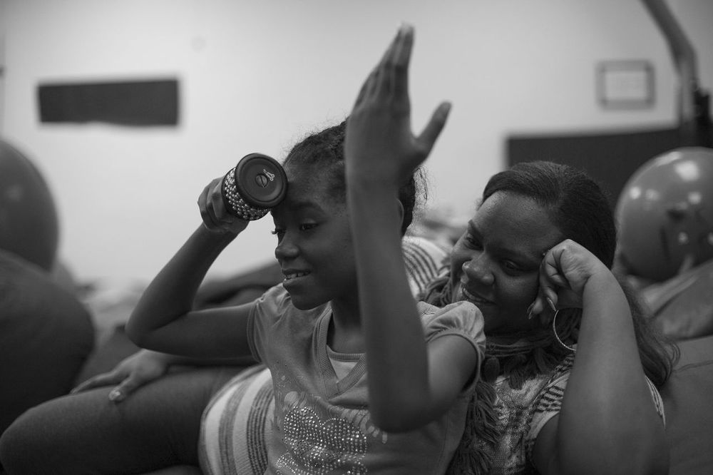 """Breanna was diagnosed with  autism  and has struggled  mostly with the   social aspects associated with it. At Extreme Kids   she got the opportunity to attend the      music therapy  program with Tal at a discounted rate. Without EK the price would  have  been too much. The program had her completely immer  sed in the music and activities.   She got to interact with the other children and the  ir families. She even helped the   younger kids along and them her. How's that for  soc    ializing :). Extreme Kids offers so   many opportunities for social interaction as well a  s  therapeutic  activities it has made my   Breanna a very happy, peaceful and social child. Thanks EK!"""