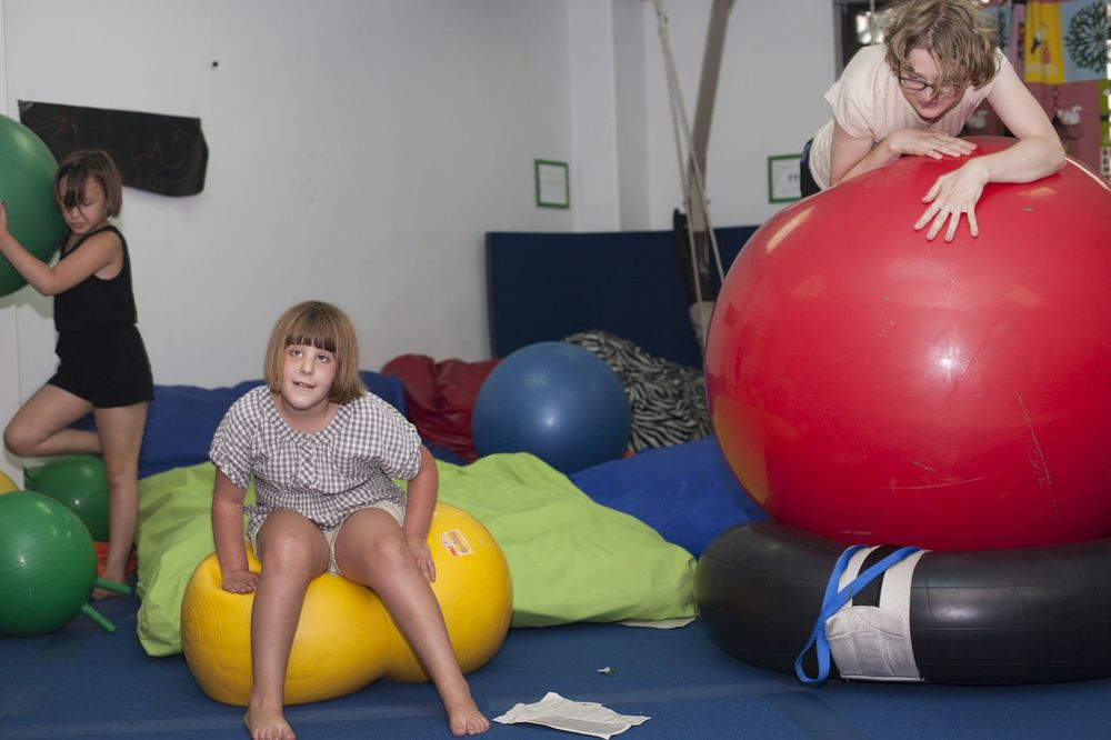 """Extreme Kids is a safe place where my daughter Ocean can be  herself, play, and meet other kids who don't think she is weird or different. Her sister loves to join her simply because it is fun!"""