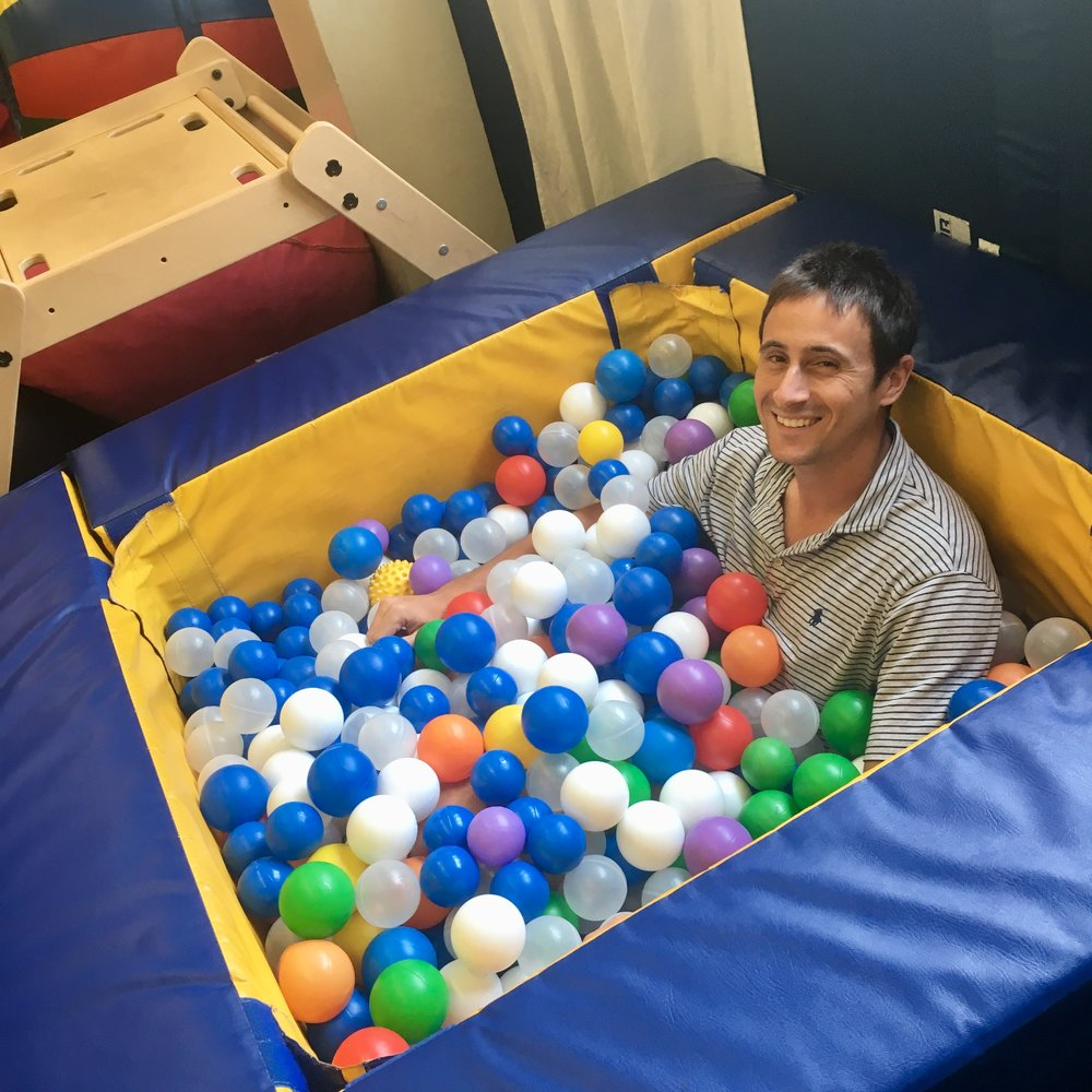 Ball pit time.