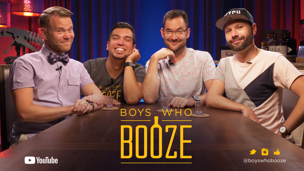 CLINK CLINK, BITCHES! - Watch new episodes of the Boys Who Booze on YouTube.