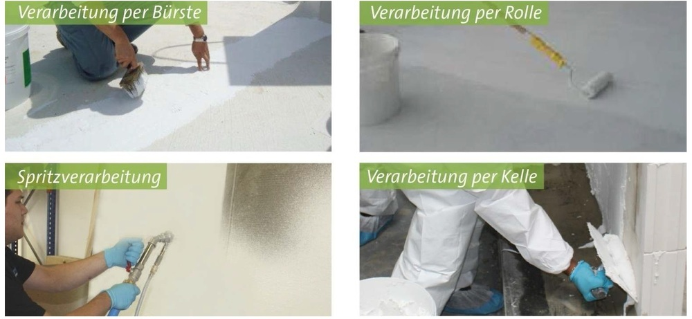 Koster 21- Water Based/Solvent Free, High Reflectivity Cementitous Waterproofing Coating
