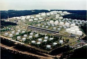 Latvia, Ventspils, NAFTA Terminals