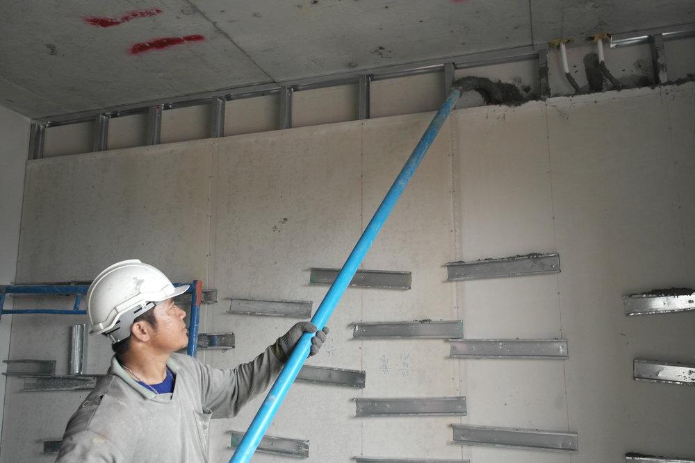 Drywall Infill -